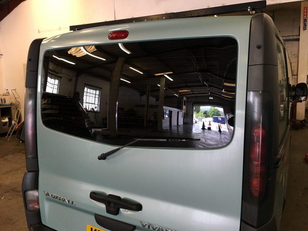 Vauxhall Vivaro Rear Tint