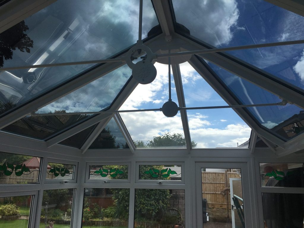 Conservatory Glare Reduction Exterior Reflectance 40%
