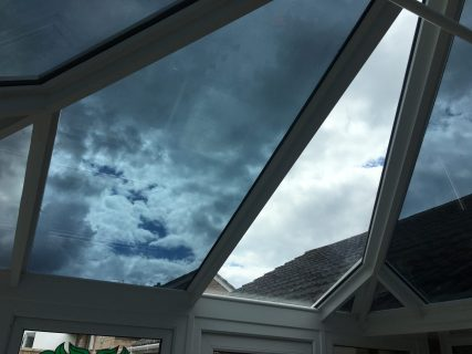 Conservatory Glare Reduction Total Solar Energy Rejected 72%
