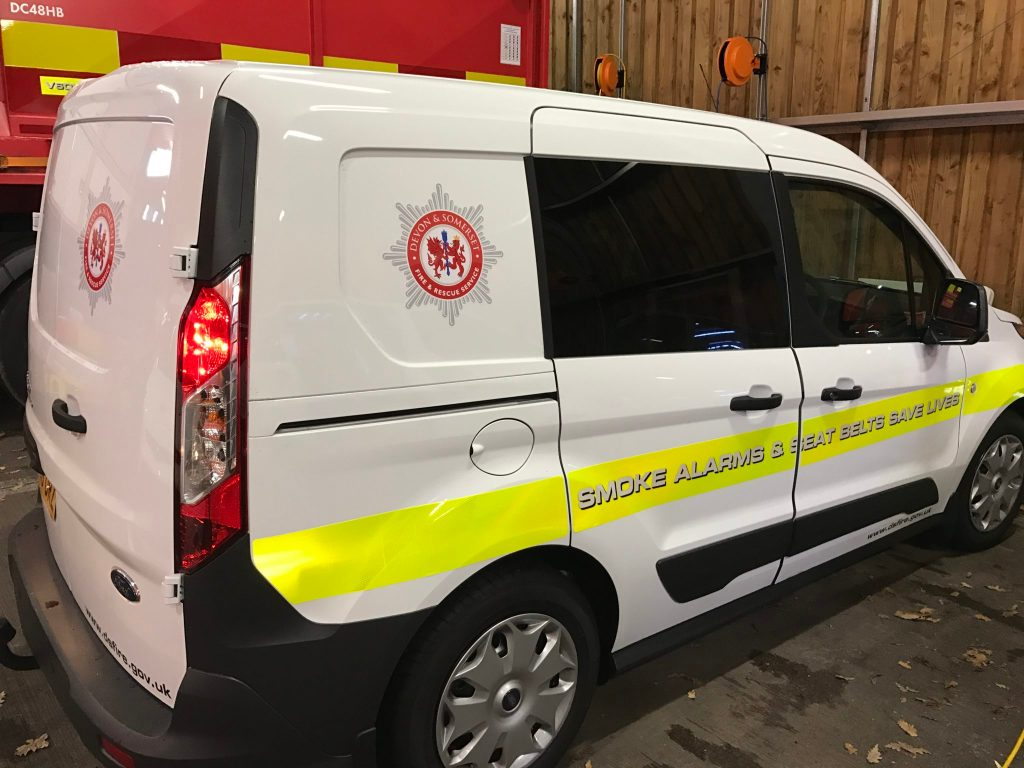 Ford Transit Connect Window Tinting by Devon Window Tinting