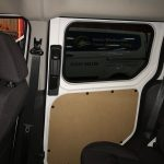 Ford Transit Connect Window Tinting Interior View