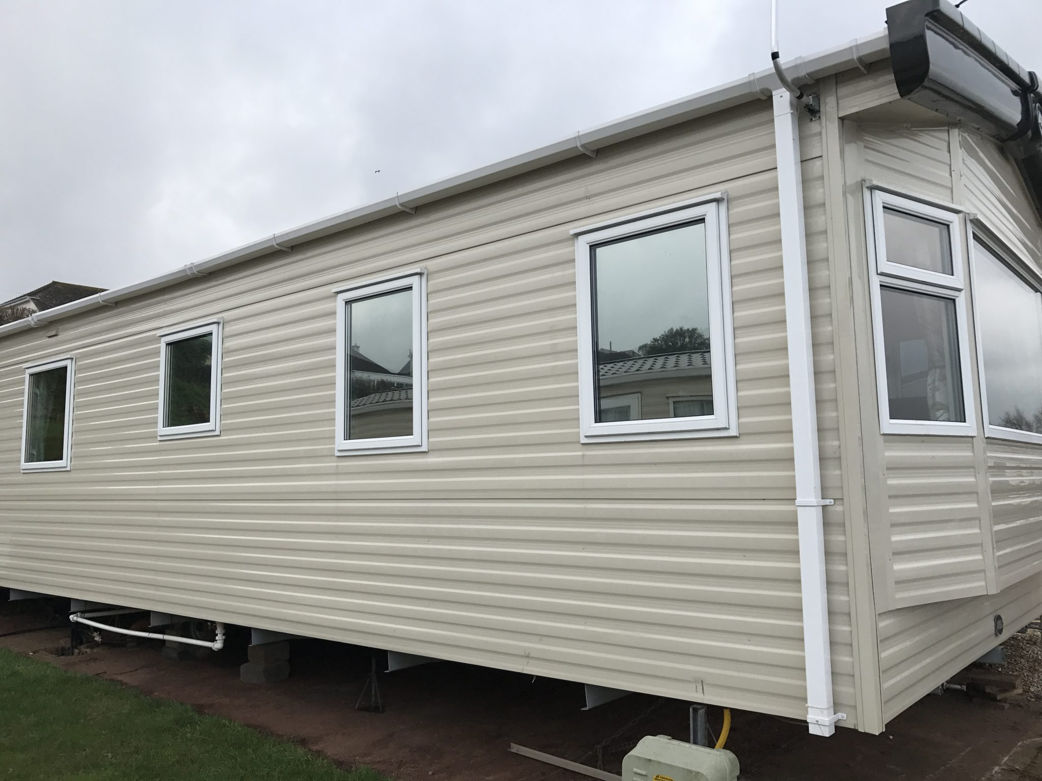 Static Caravan Park Home Window Tinting
