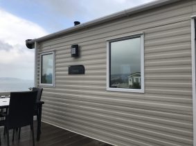 Silver 20 Privacy Film for Holiday Parks
