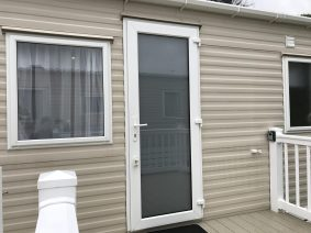 Static Caravan Frosted Window Film