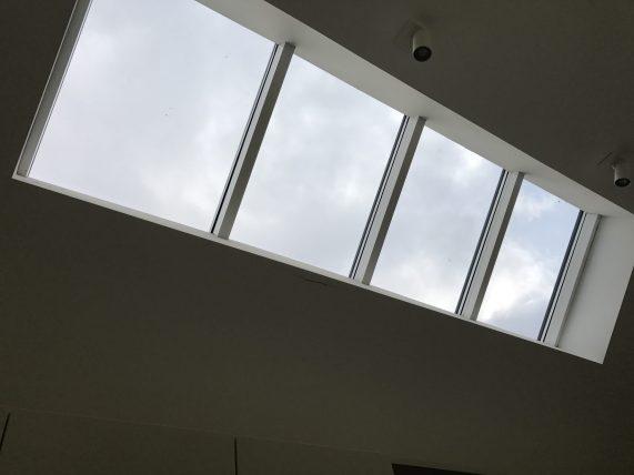 Before Perlite Window Tinting Skylights