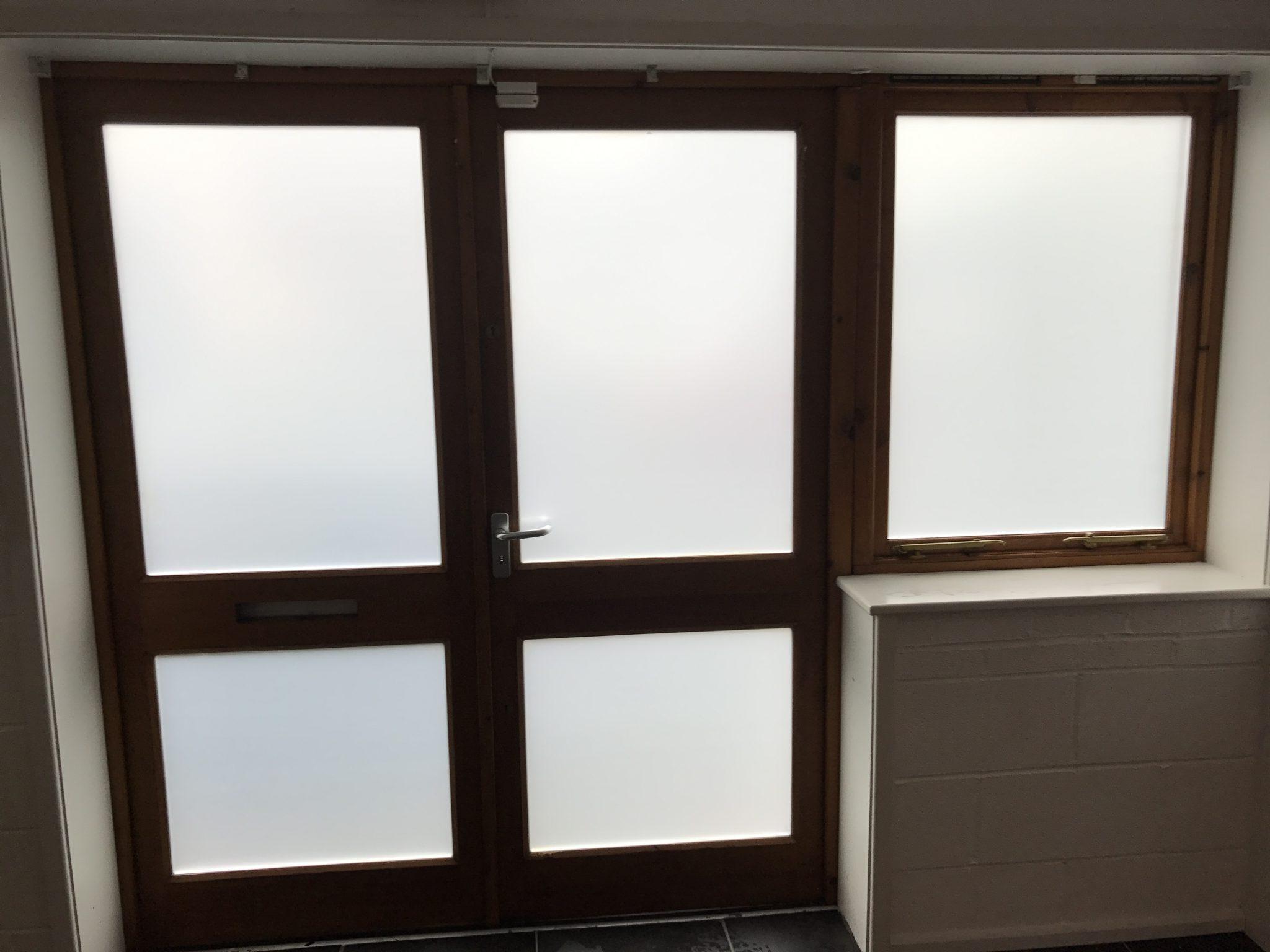 Matte Frost Window Film