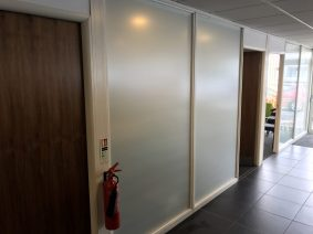 Matte Showroom Frosted Film