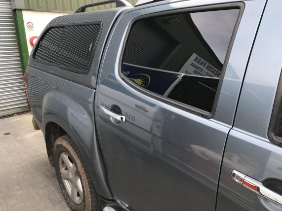 Isuzu D-Max Window Tint