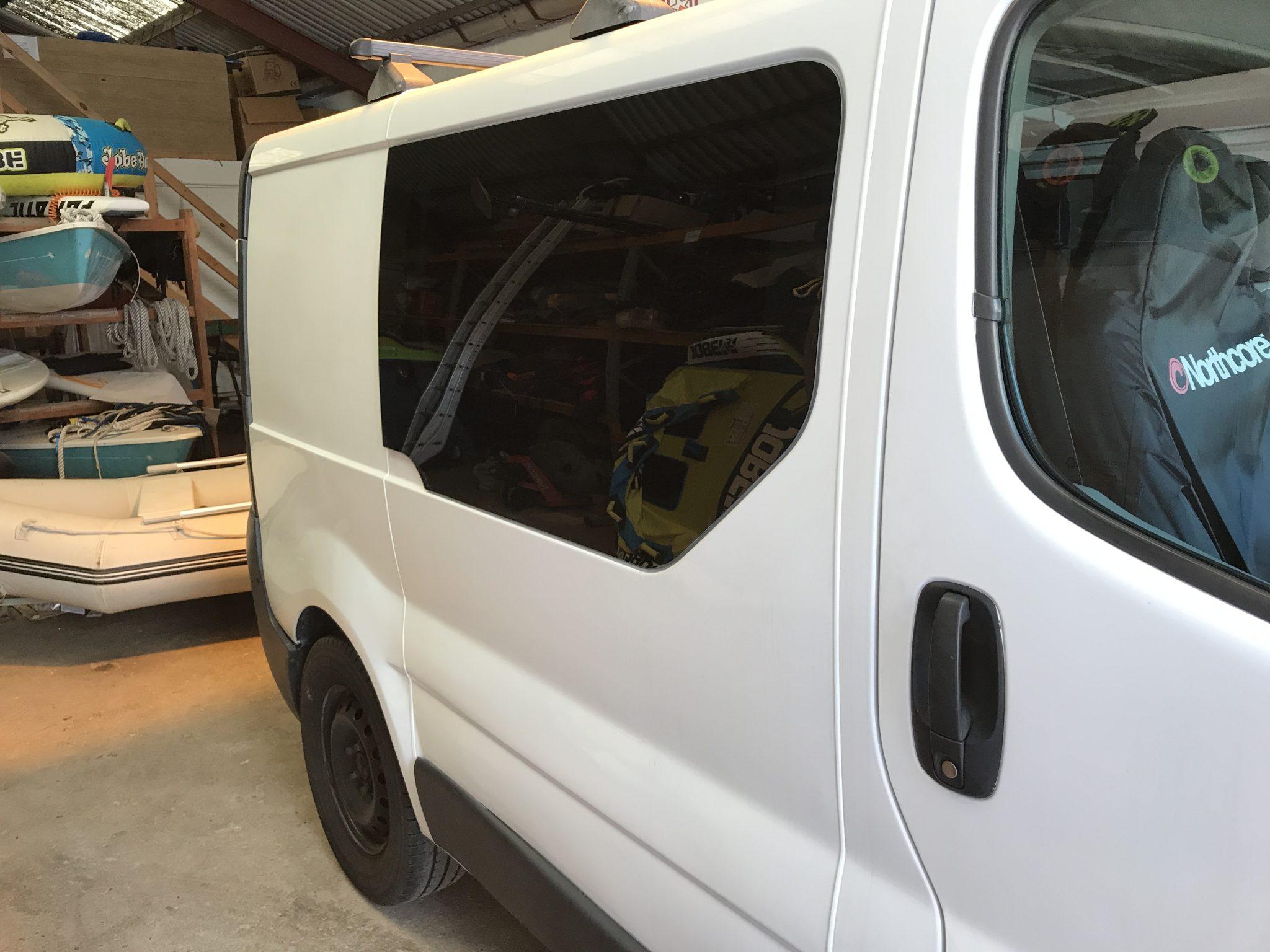 Vauxhall Vivaro Window Tint