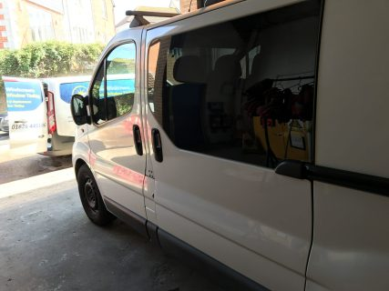 Van Window Tinting