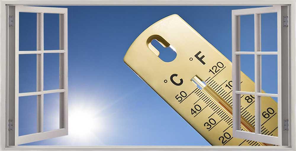Solar Control Window Temperature