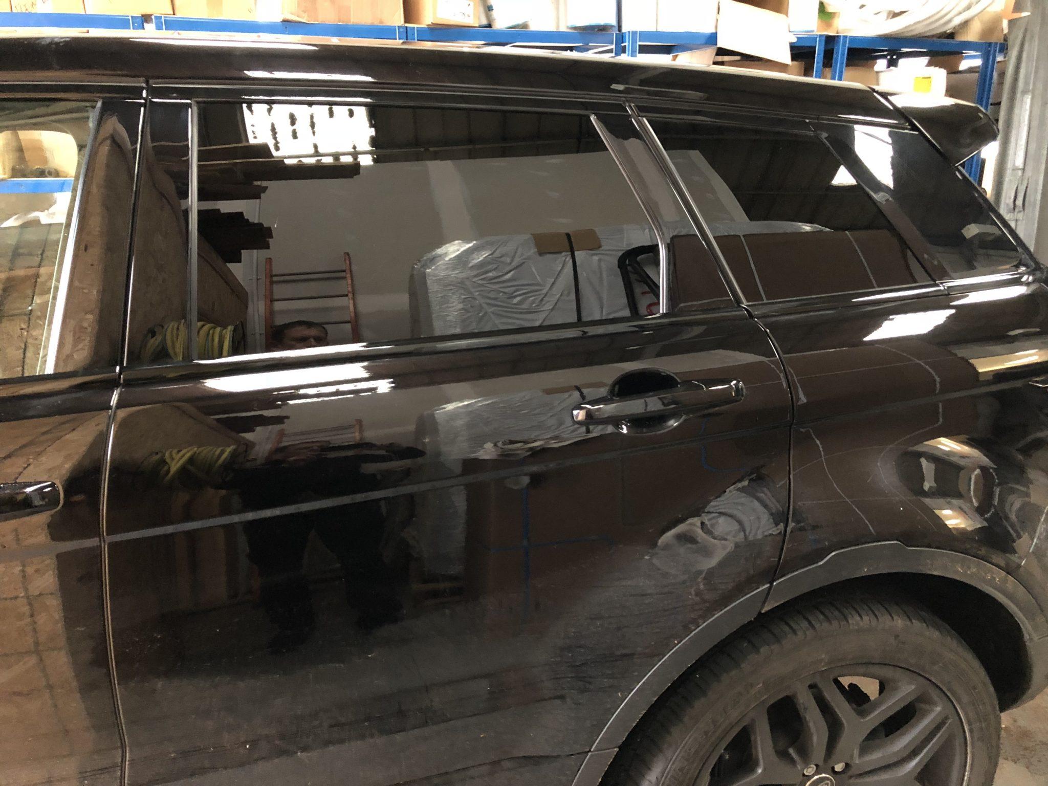 Range Rover Evoque Window Tint