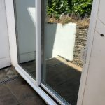 Silver 20 Privacy Film on Double Glazed Doors