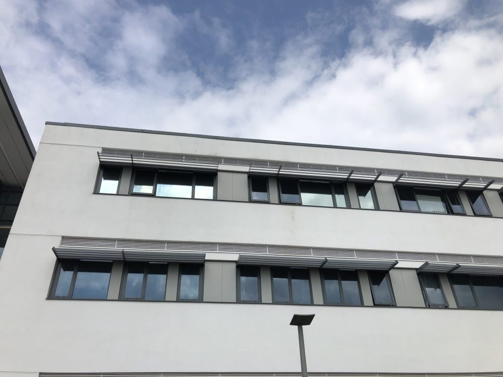 Silver 20 Window Film for Glare Reduction in Offices