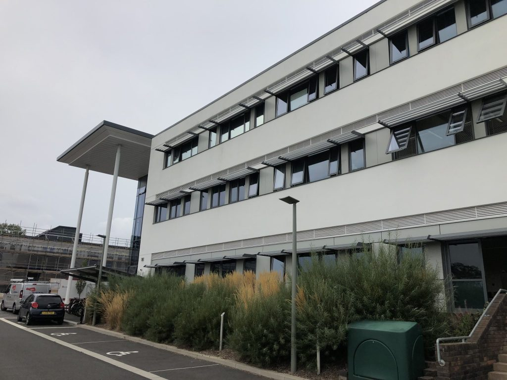 Exeter Science Park Office Window Film