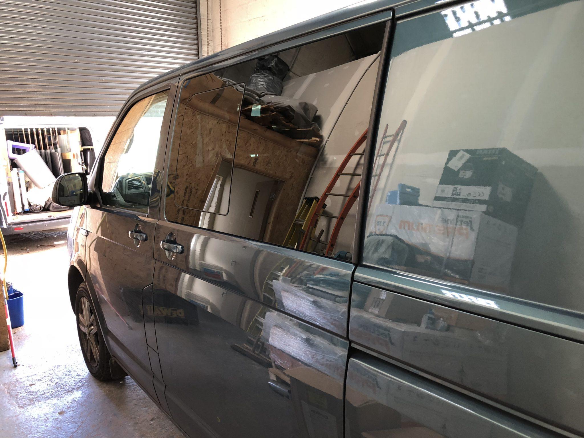 Vauxhall Transporter T6 Window Tinting Global QDP