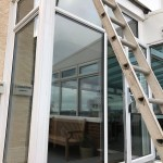 Channel View Hotel Silver 50 Window Film for UV Protection, Increased Privacy and Solar Control
