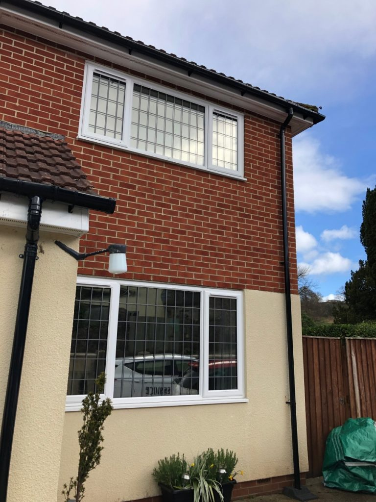 Solargard Sterling 50 window film for heat and uv protection on this property in Newton Abbot. Subtle reflection and neutral looking from the inside.