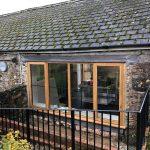 Harcombe House Kitchen Windows