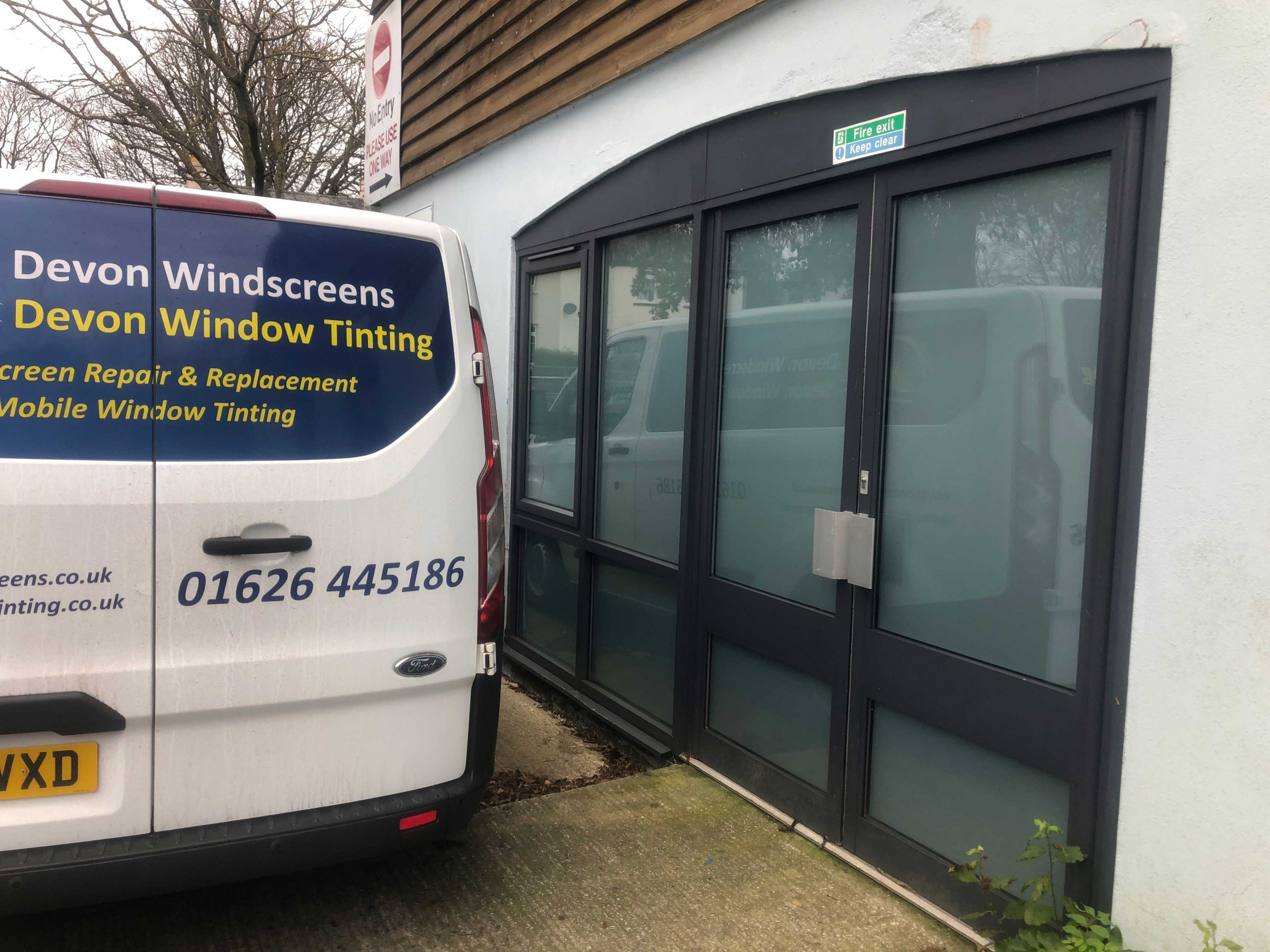 Frosted Film Devon Window Tinting