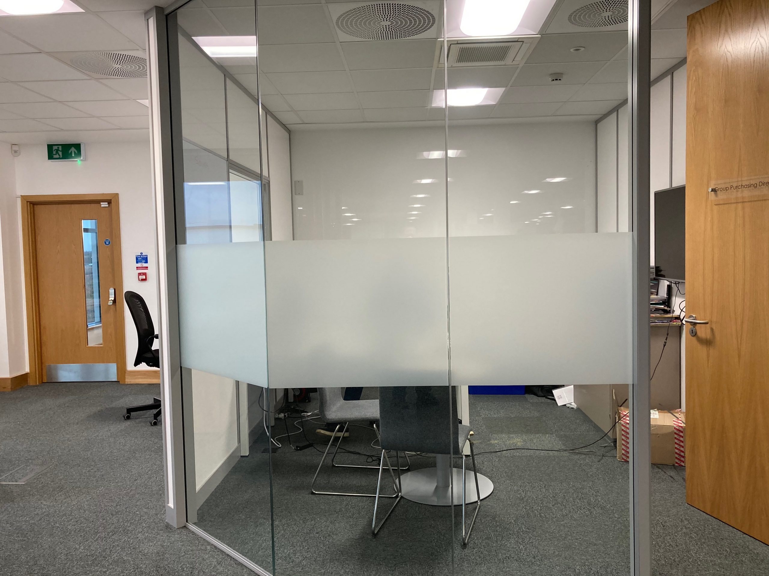 Why should your office have glass manifestations