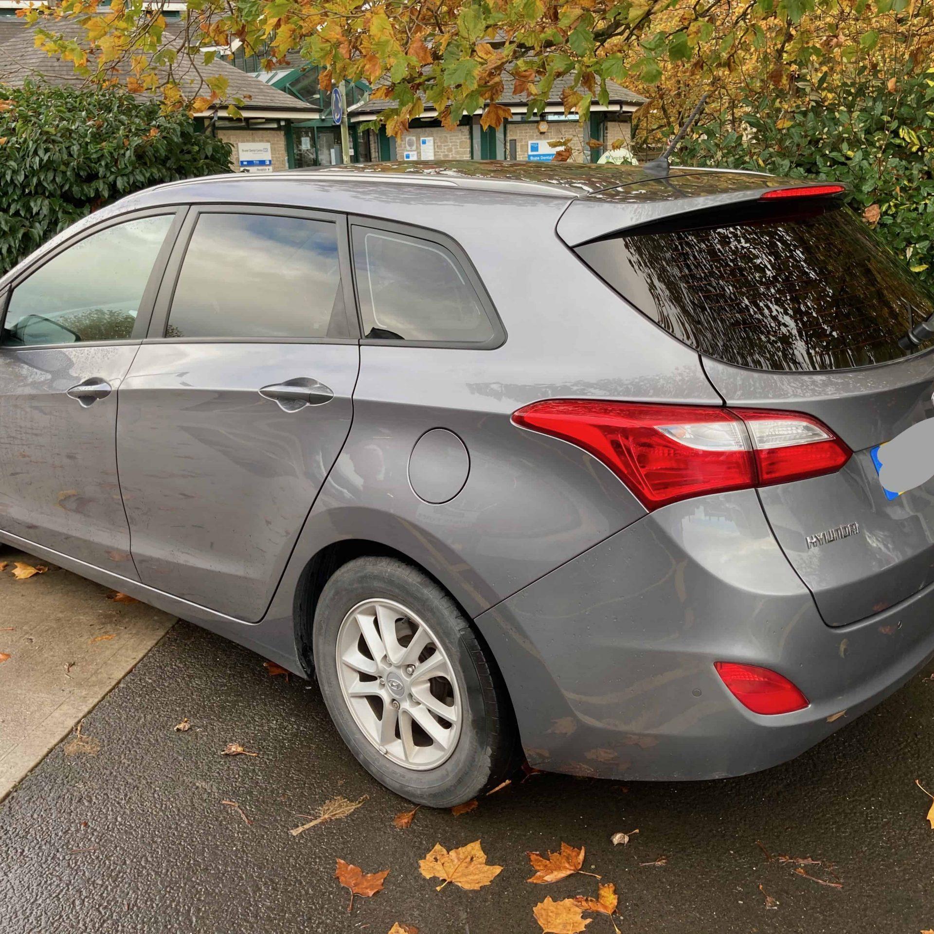 Hyundai i30 medium window tint