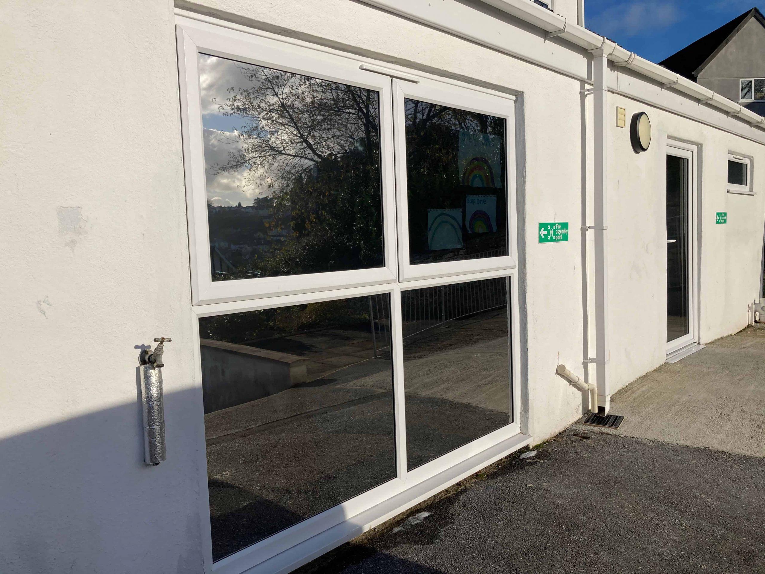 Solargard Sentinel Plus Silver 20 external window film Newton Abbot