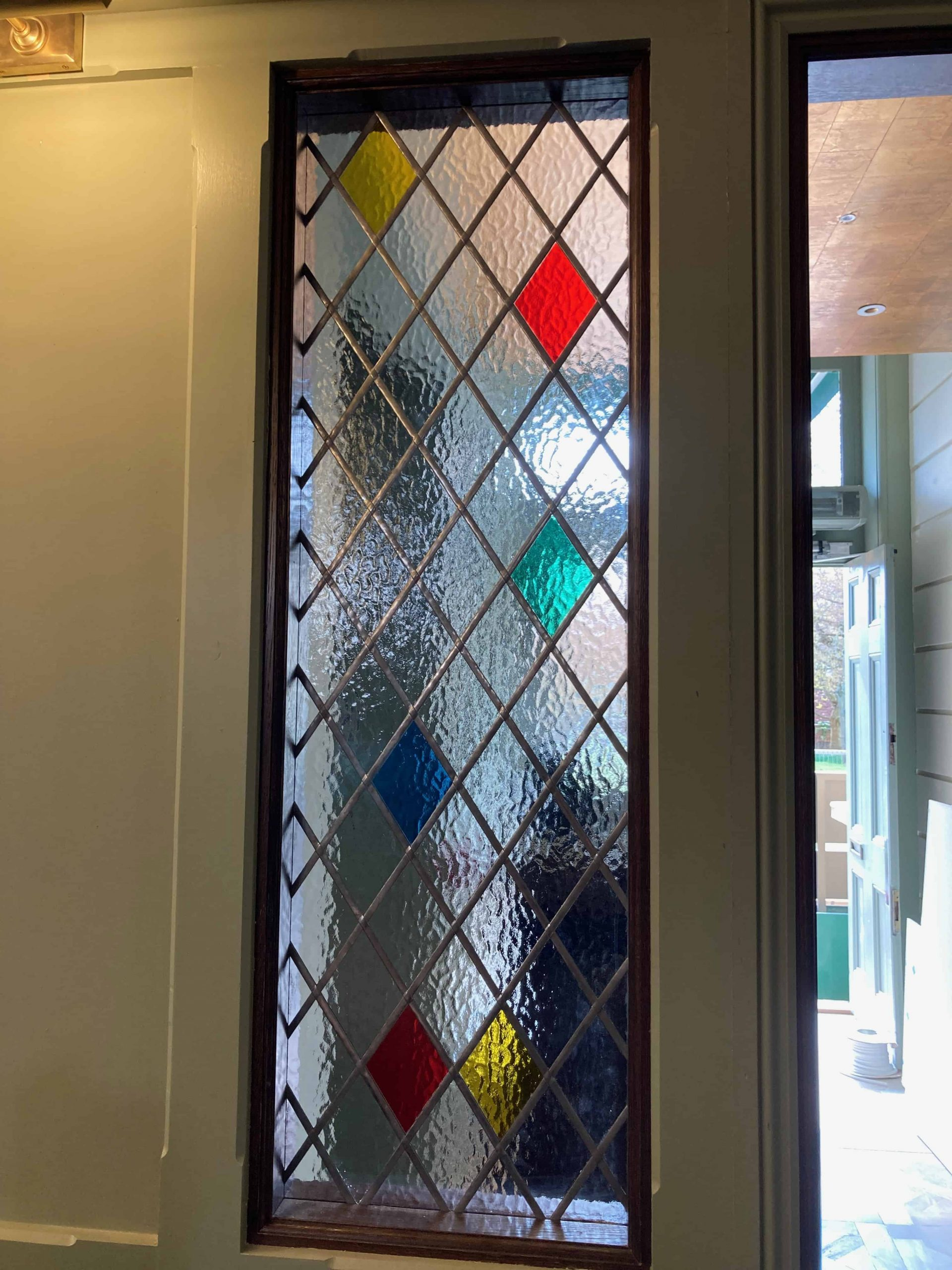 Coloured Window Film The Ivy Exeter