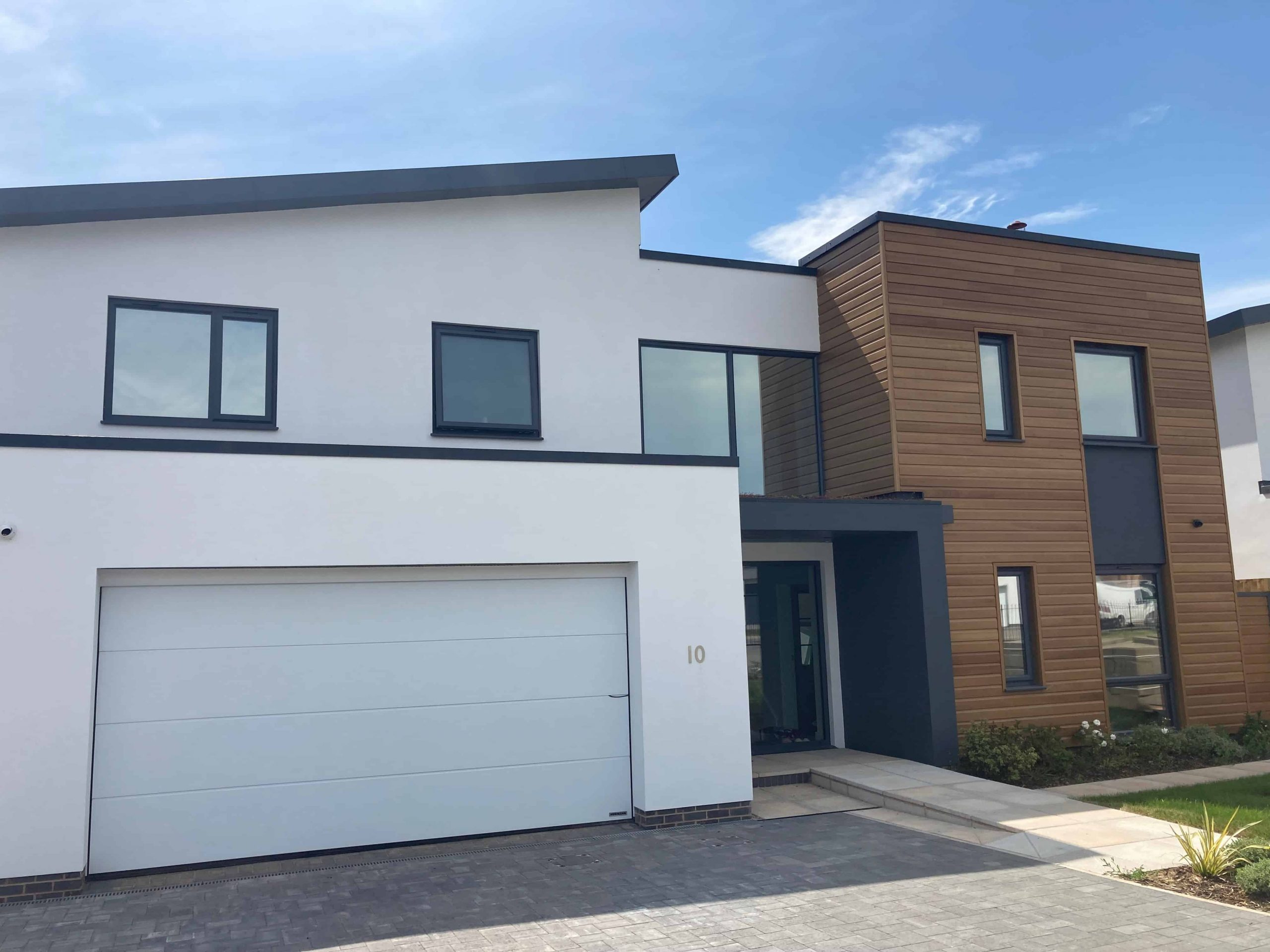 Silver 35 natural look finish window film with privacy Exeter