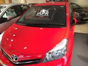 Toyota Yaris Windscreen Chip Repair