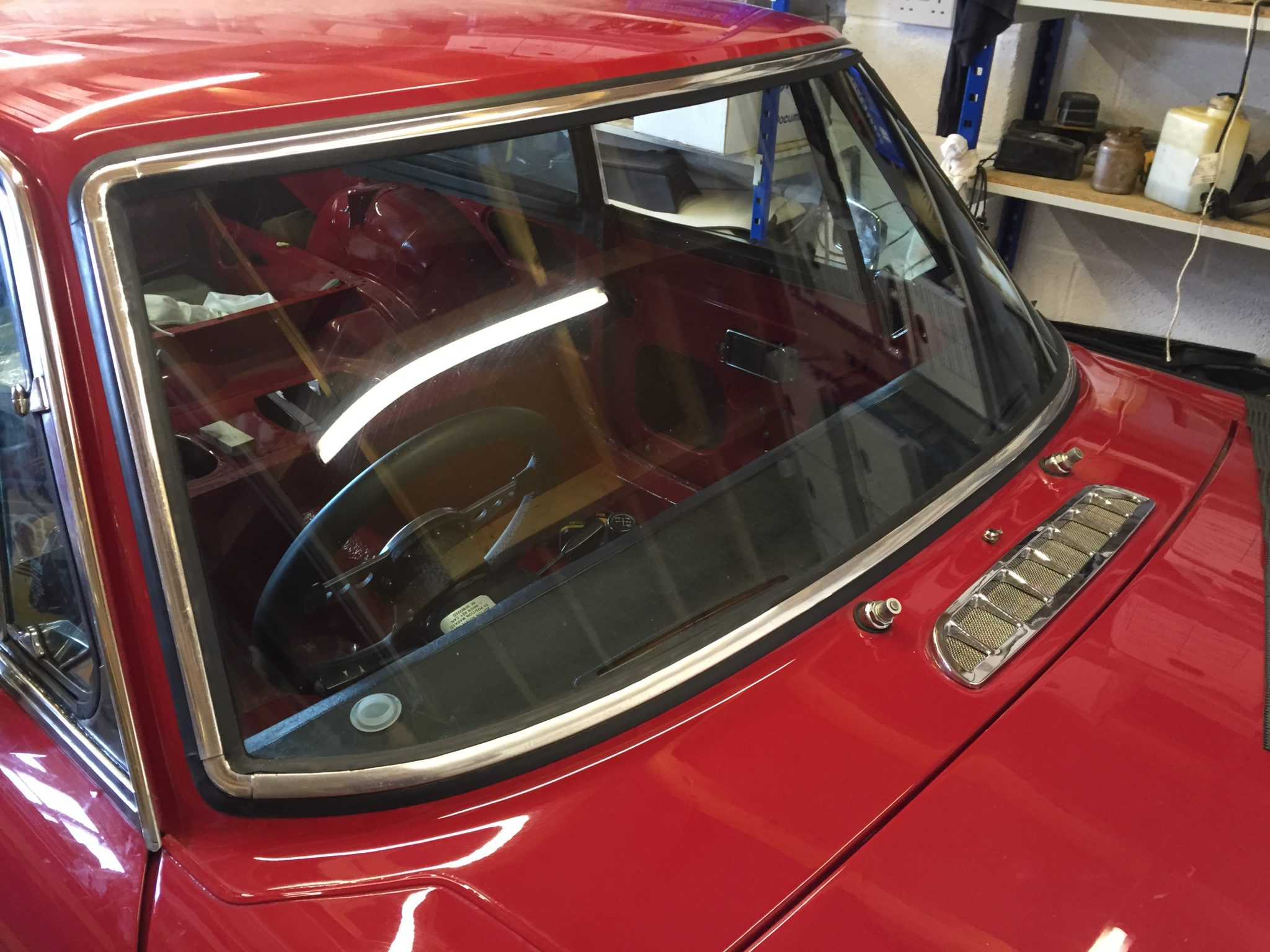 MGB GT Windscreen Rubber