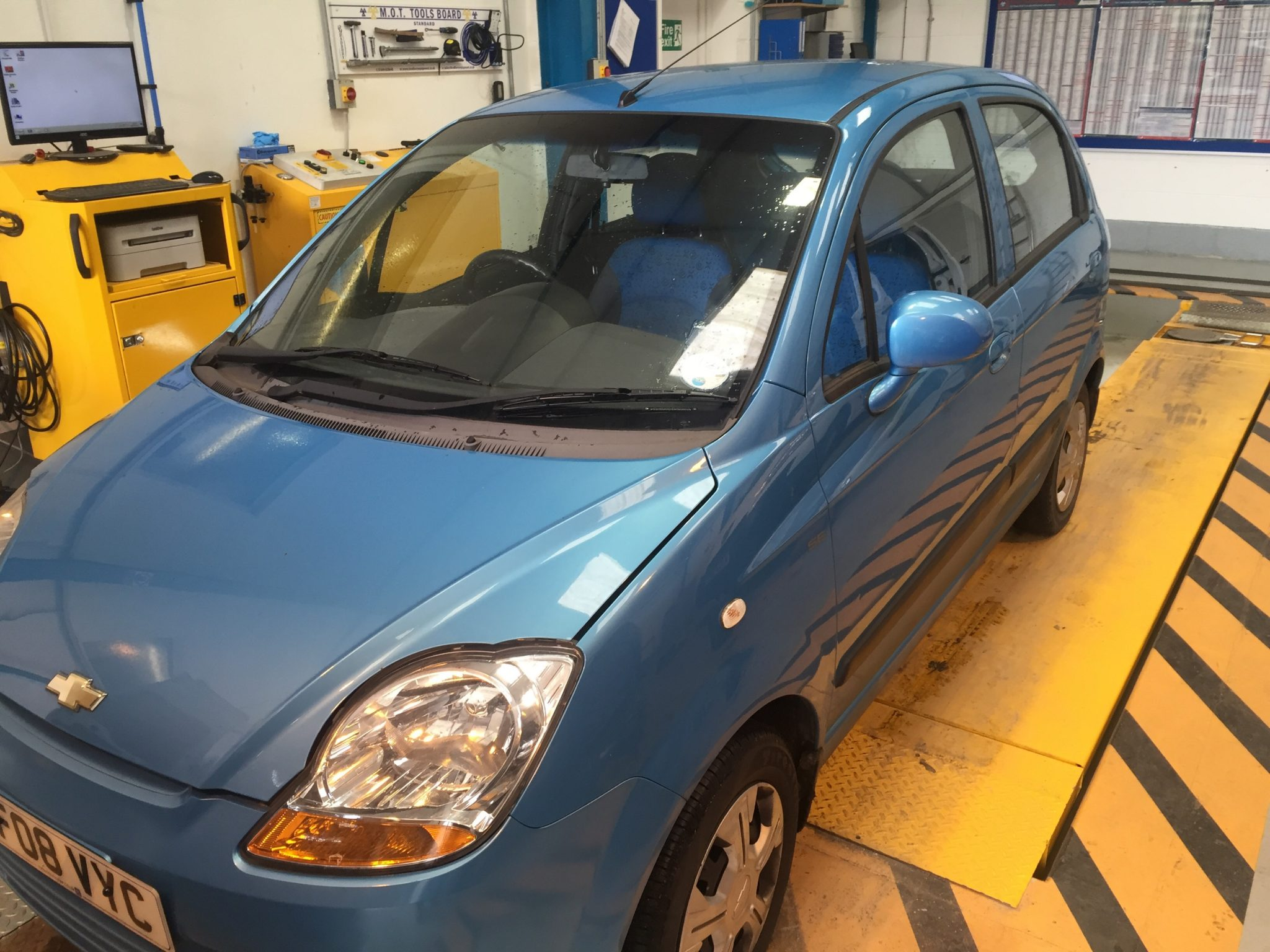 Matiz Windscreen
