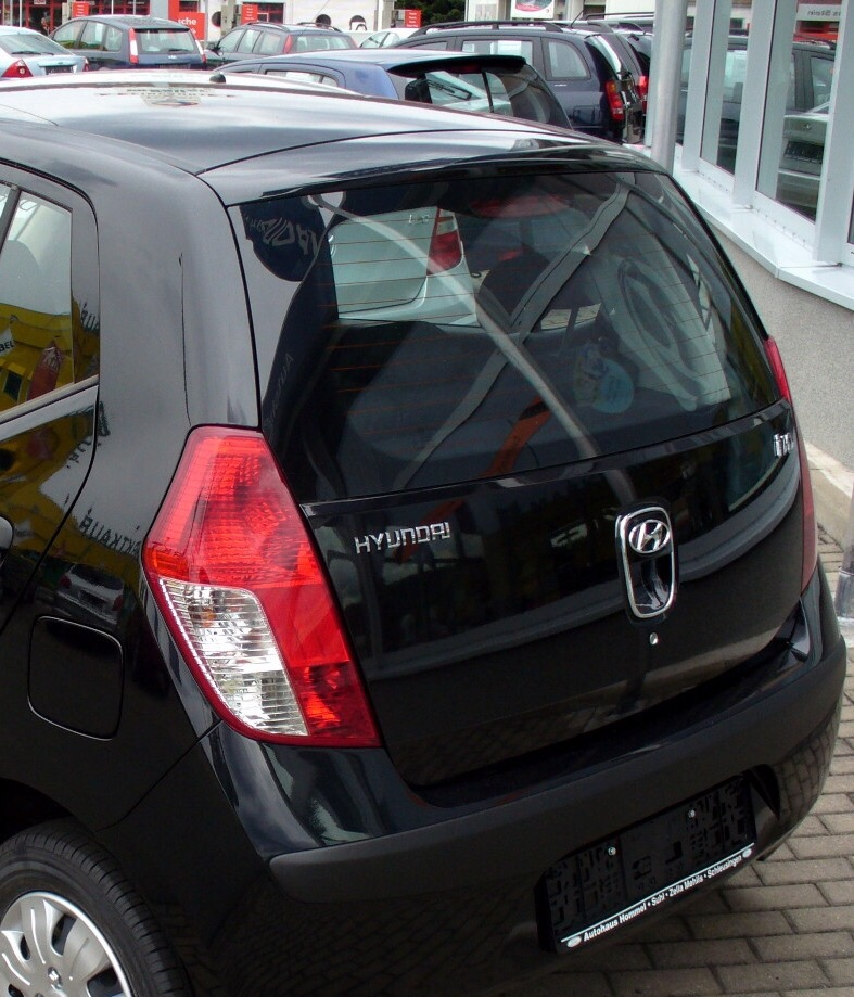 Hyundai i10 Rear Windscreen