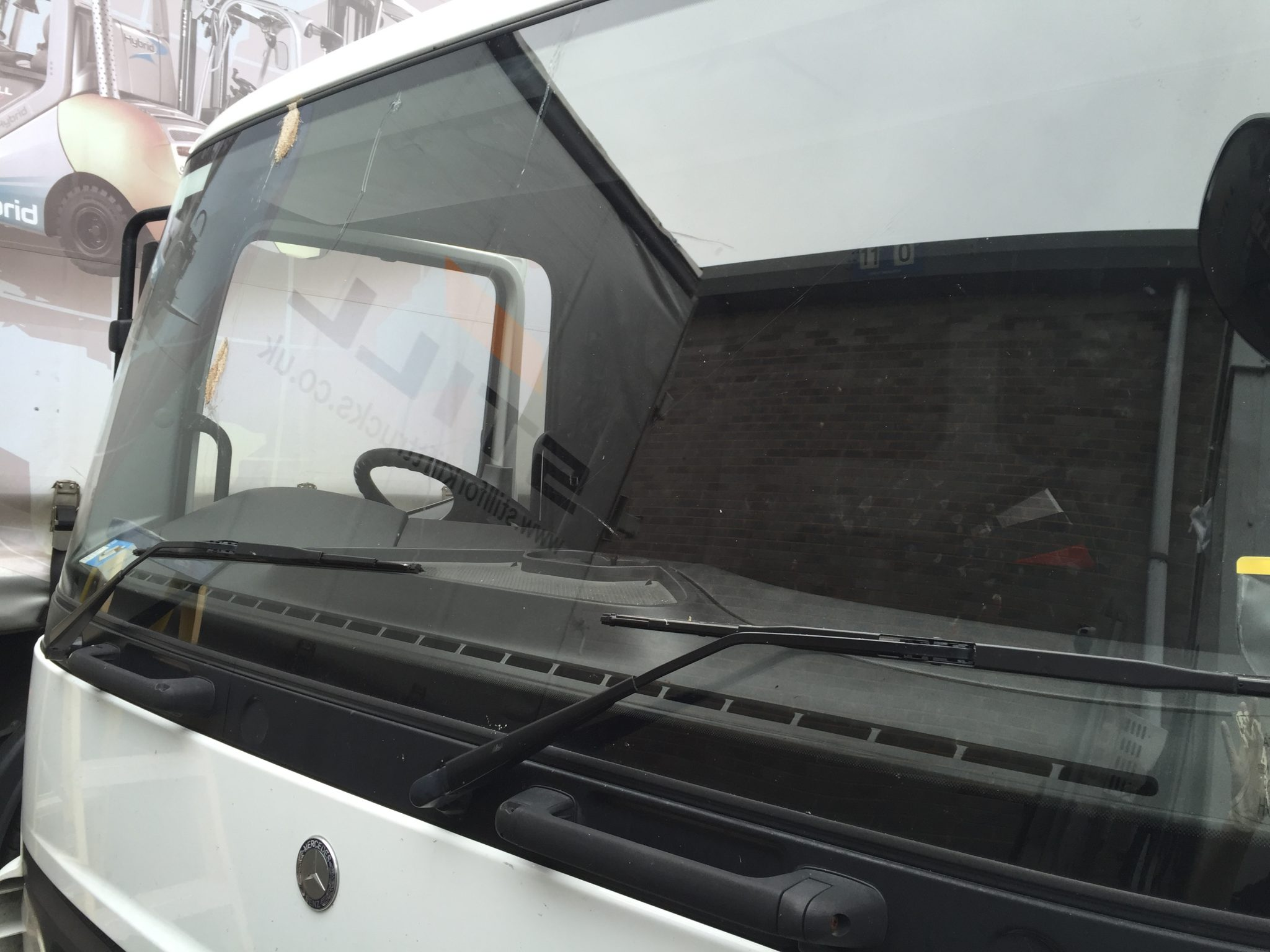 Mercedes Atego Replacement Windscreen
