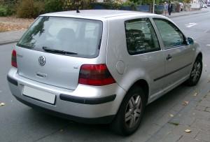 VW Golf Mk4 Rear Window