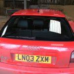 Audi A3 Rear Windscreen