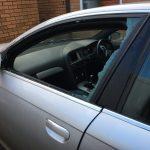 Audi A6 broken doorglass