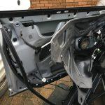 Audi A6 Door Frame Removed
