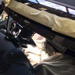 BMW Mini Cooper Leaking Windscreen - Urethane missing aperture - shiny aperture.