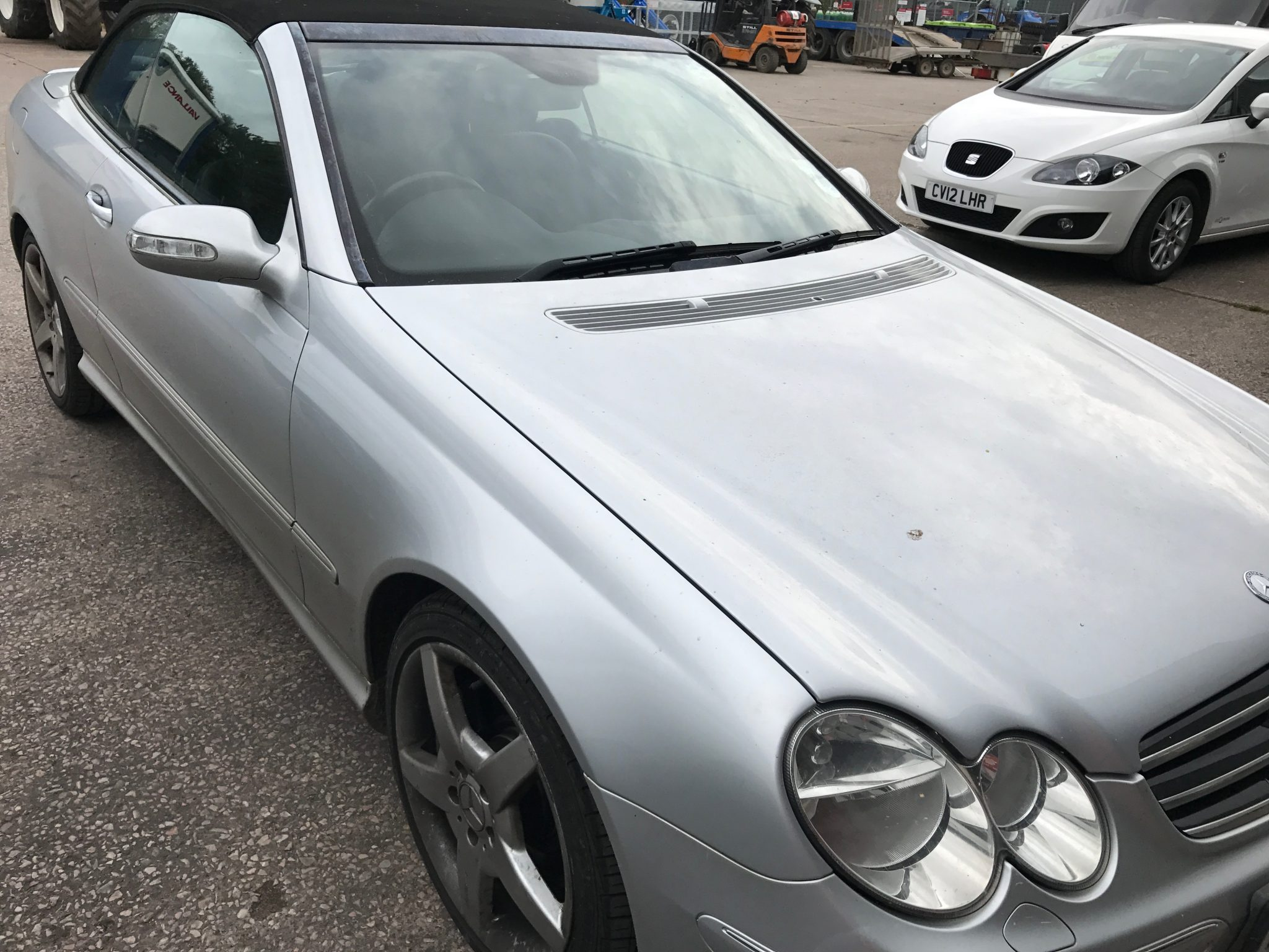 Mercedes CLK Windscreen Replacement