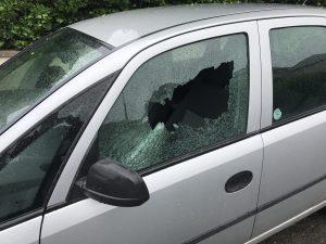 Vauxhall Meriva Door Glass