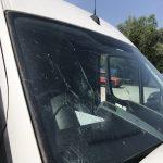 Bird Strike Windscreen Damage