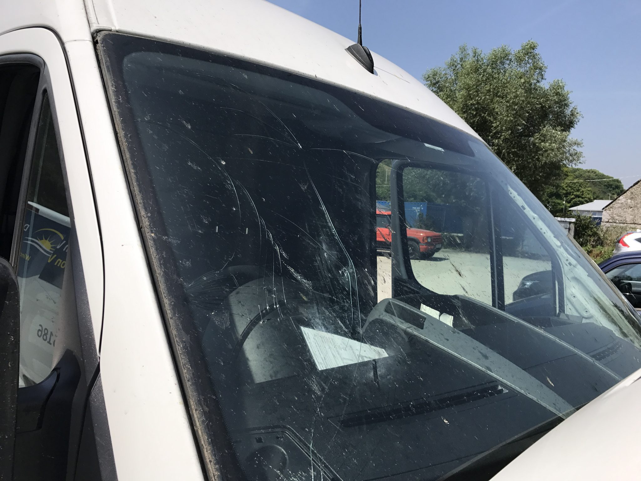 Bird Strike Windscreen Damage