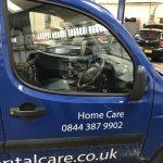 Fiat Doblo Broken Doorglass