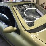 Clio Smashed Windscreen