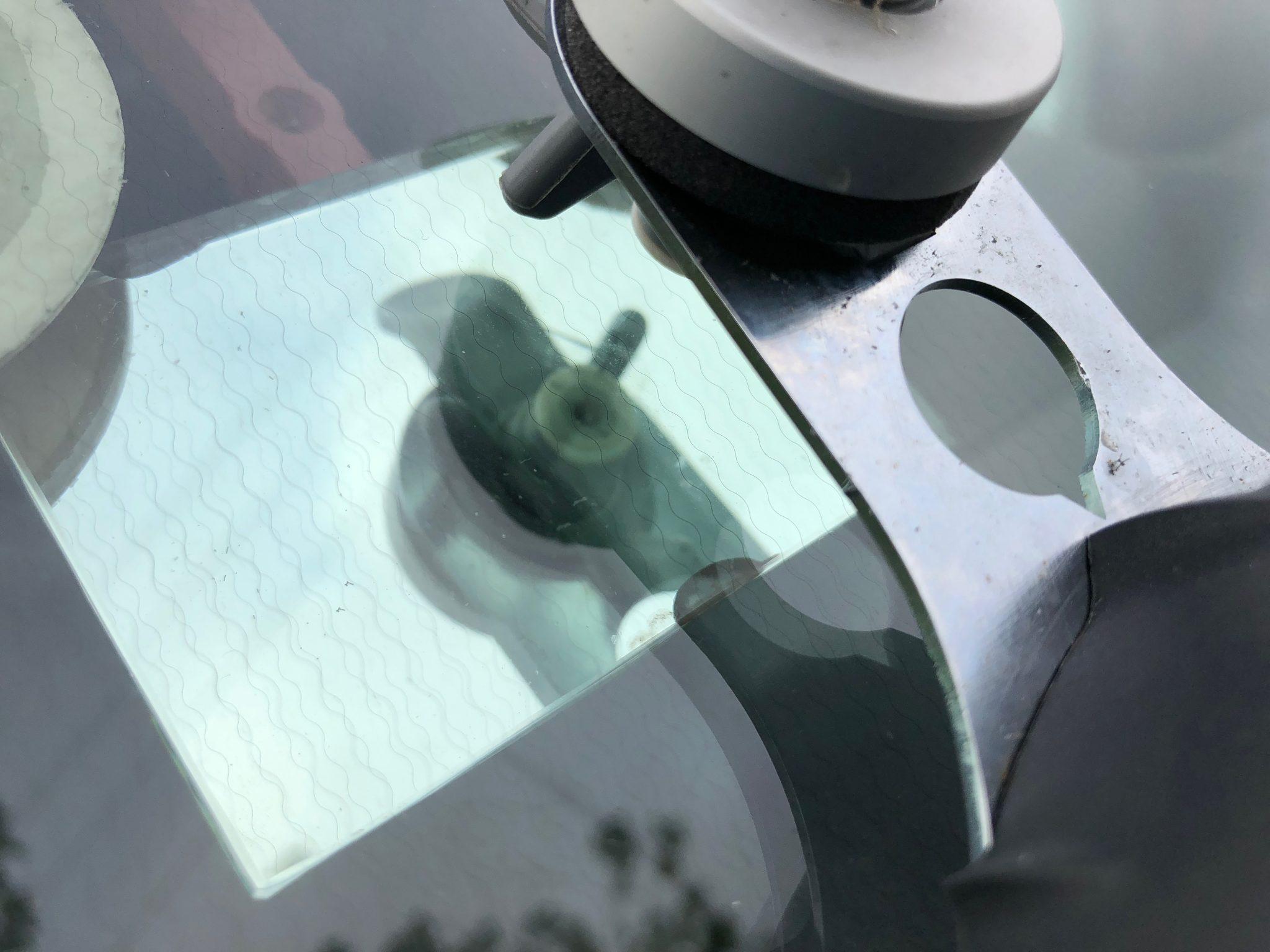 New Transit Windscreen Chip Repair