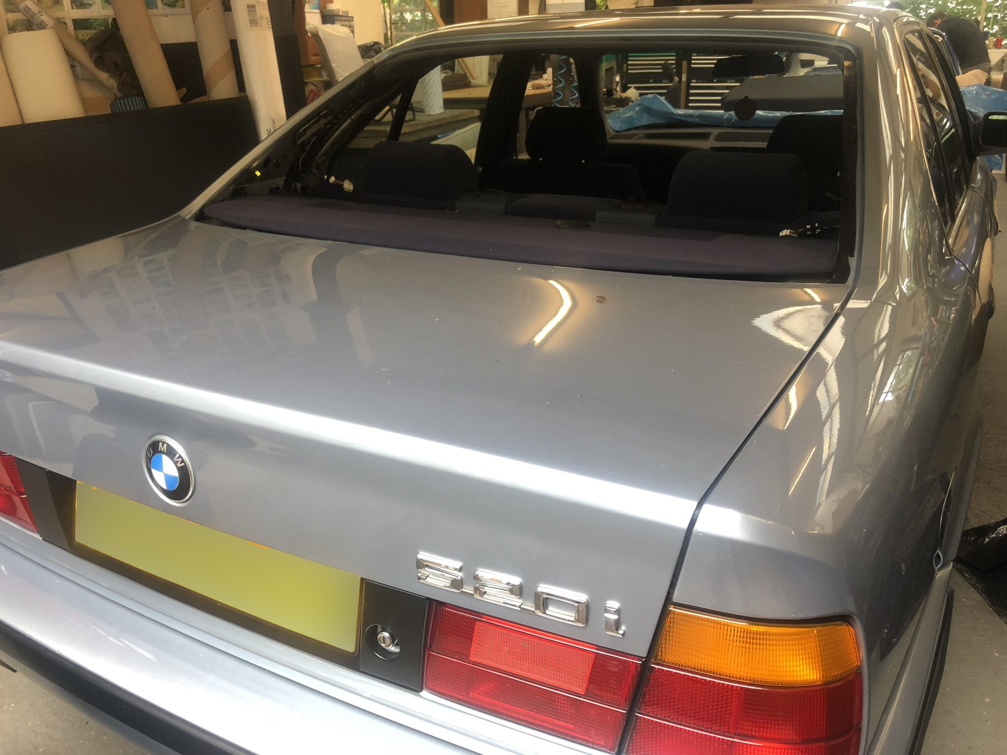 BMW 5 Series Rear Window Remove and Refit