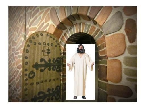 jesus in robe
