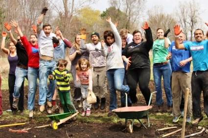 garden volunteers