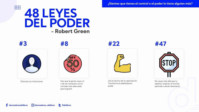 48 leyes del poder de Robert Green
